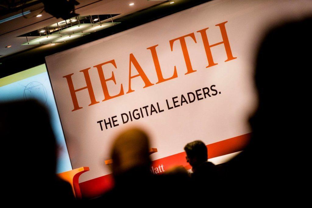 Banner Logo Health – The Digital Leaders Veranstaltung des Handelsblattes