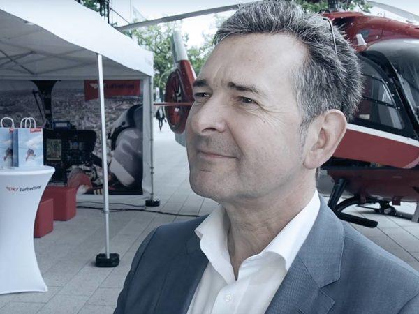 Christian von der Becke im Interview ueber Intersektorale Zusammenarbeit durch Digitalisierung
