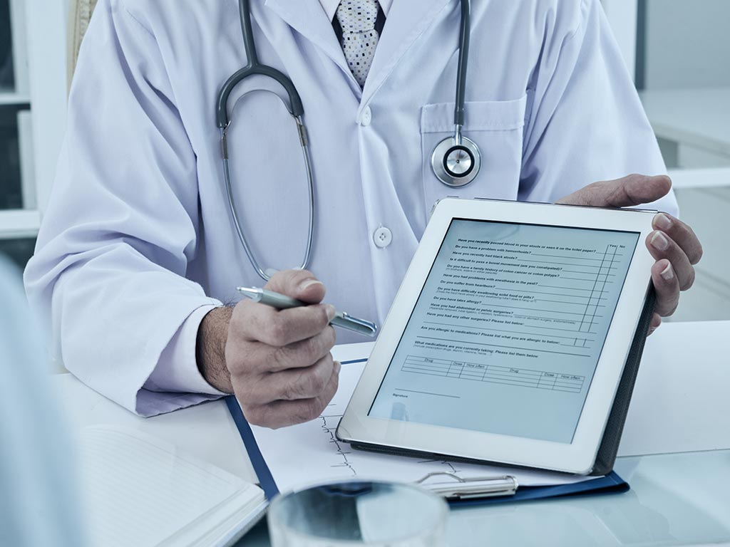 elektronische Patientenakte im Krankenhaus