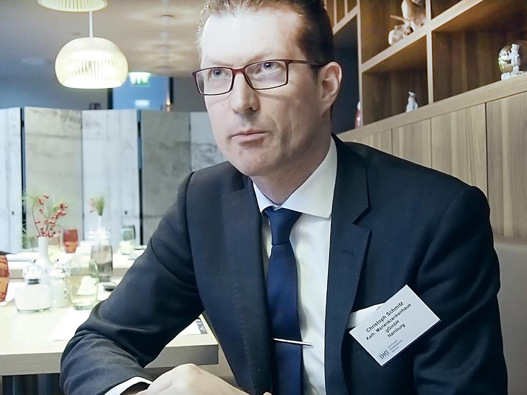 Christoph Smitz über die digitale Patientenakte im Gesundheitswesen