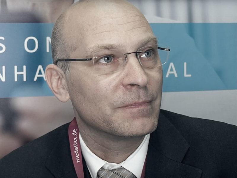 Dr. Armin Ortlam im Interview über das digitale Krankenhaus