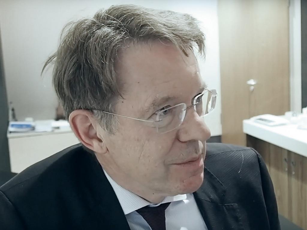 Norbert Roeder im Interview ueber Digitalisierung im Krankenhaus