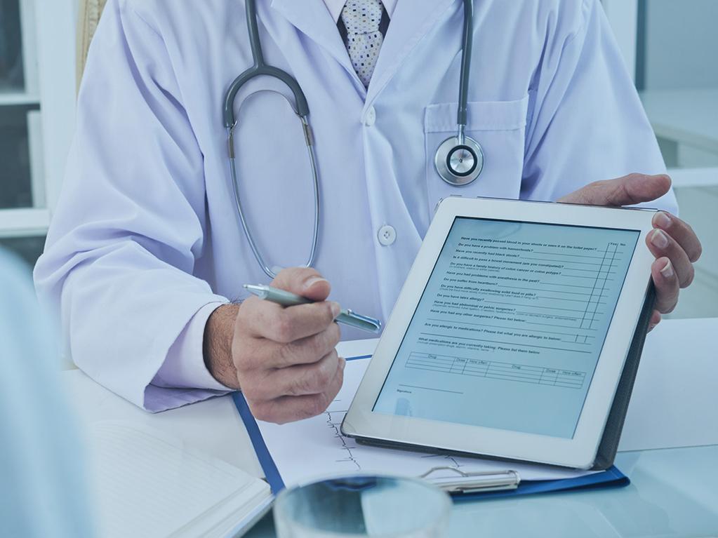 elektronisches Patientenmanagement fuer das Gesundheitswesen