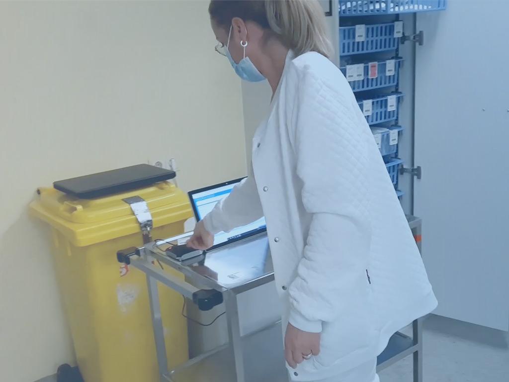 digitale Logistik im Krankenhaus
