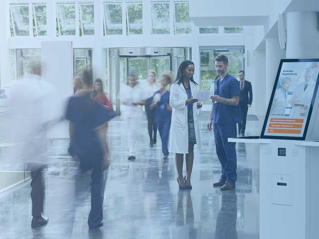 Partnernetzwerk fuer digitales Patientenmanagement im Krankenhaus